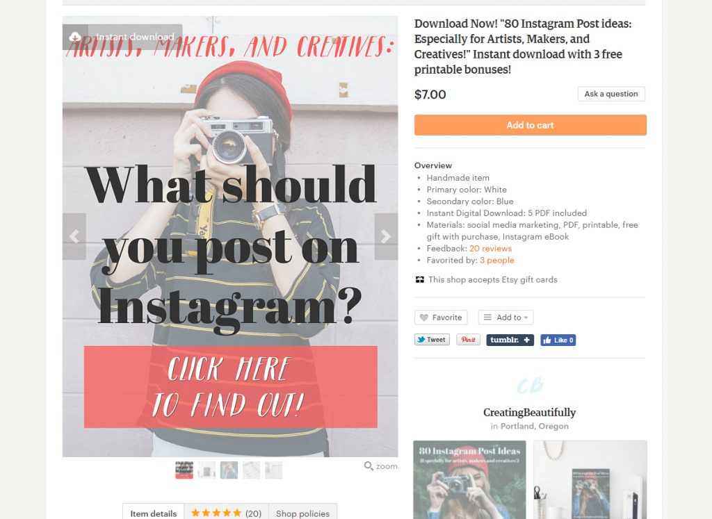 This article shows you 5 ways to Promote Your Etsy Shop on Pinterest