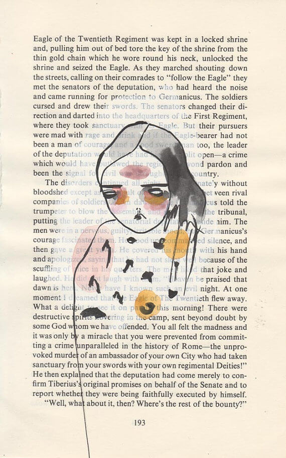 """Artist Interview with PrettyLittleThieves on Creating Beautifully.com """"p. 193"""""""