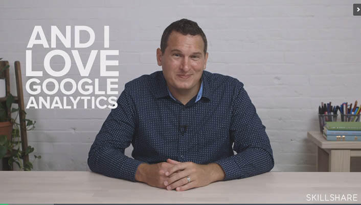 20+ Creative Business Classes You Can Take On Skillshare: Fundamentals of Google Analytics