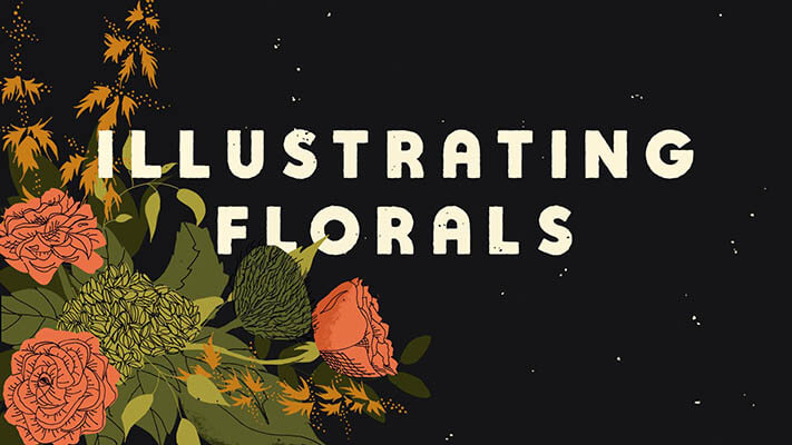 20+ Creative Business Classes You Can Take On Skillshare: Illustrating Flowers & Arranging Bouquets in Photoshop
