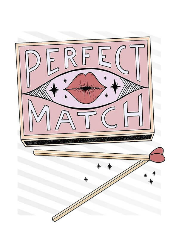 """Selling Art Passively on RedBubble: Meet Barlena. """"Perfect Match"""" by Barlena on RedBubble."""