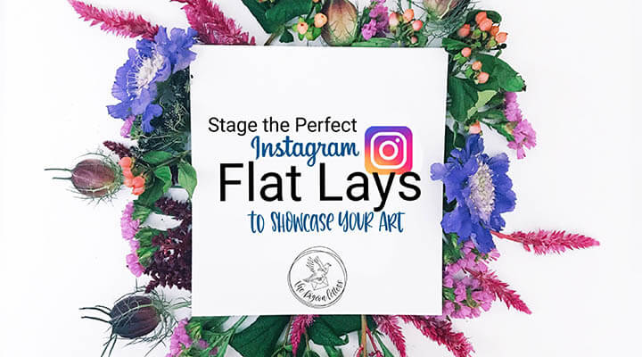 20+ Creative Business Classes You Can Take On Skillshare: Stage the Perfect Instagram Flat Lays to Showcase Your Art!